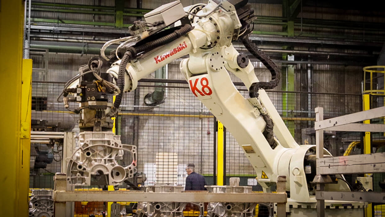 Advanced manufacturing happening within Ryobi, which is situated in Mid and East Antrim